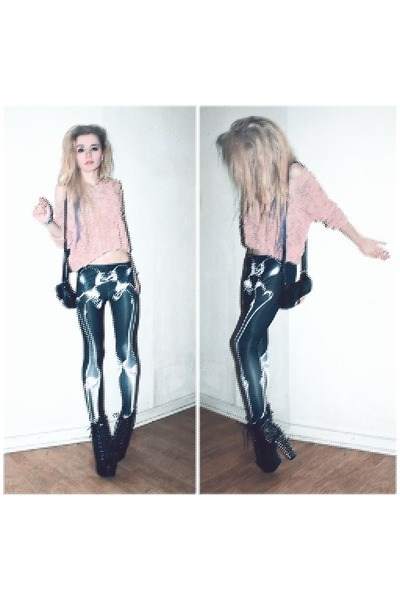 Skeleton Leggings - How to Wear and Where to Buy | Chictop