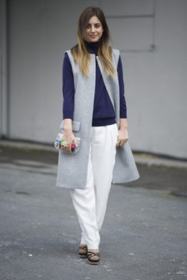 How to style your sleeveless jackets and vests? - Marie France .