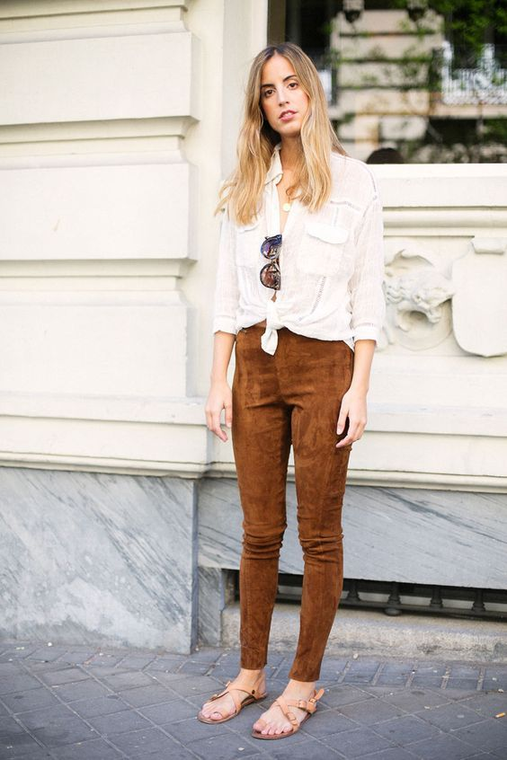 Everyone's Wearing: Suede Pants – Closetful of Clothes | Outfits .