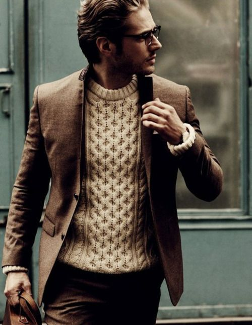 Hot!! Sweater, Blazer combo Men fashion. Style. Trend. | Well .