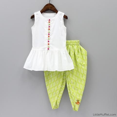 Pre Order: Tulip Pants With Top | Kids frocks, Dresses kids girl .