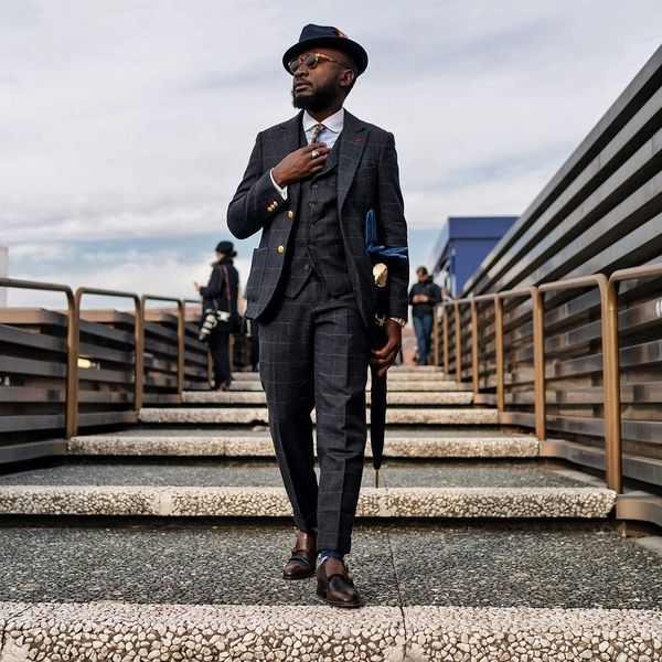 How to Wear Tweed Blazers and how to combine them - Hocker