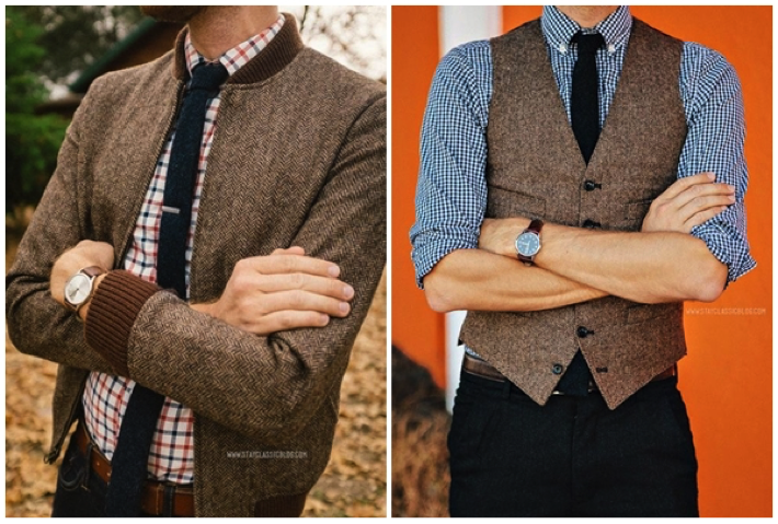 Gentlemen's Style Guide: Quick Tips for Wearing Tweed – The .