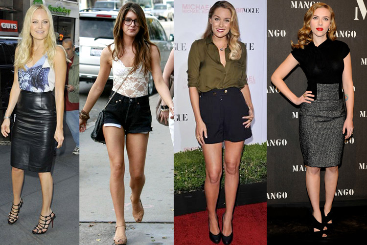How to Wear High-Waisted Shorts and Skirts - Lulus.com Fashion Bl
