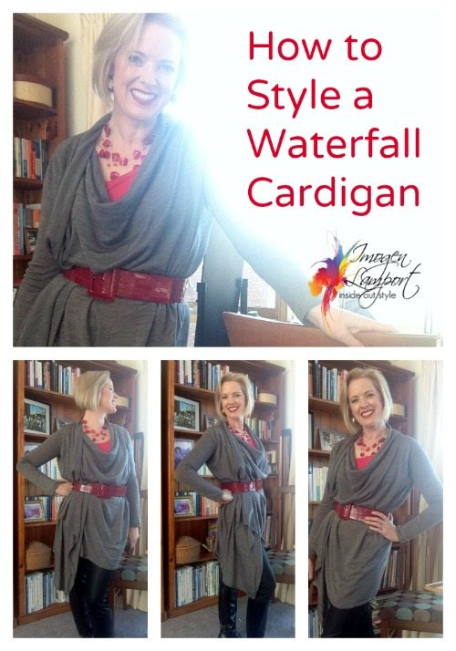 How To Style A Waterfall Cardig