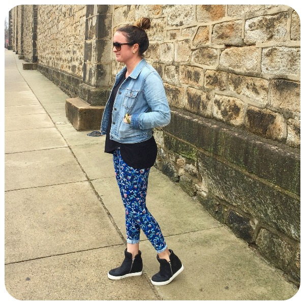How To Wear: Wedge Sneakers – And Her Little Dog T