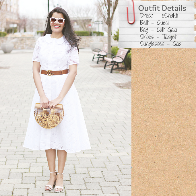 Style-Delights: Spring/Summer Must Have - White Cotton Eyelet Dress