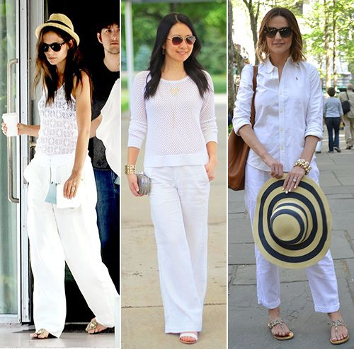 How To Wear White Linen Pants | Johnny Was | White linen pants .