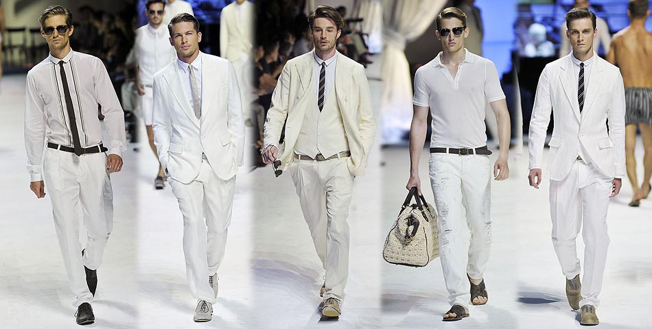 MANtoMEASURE: Summer color – WHITE: How to wear white jeans & pan