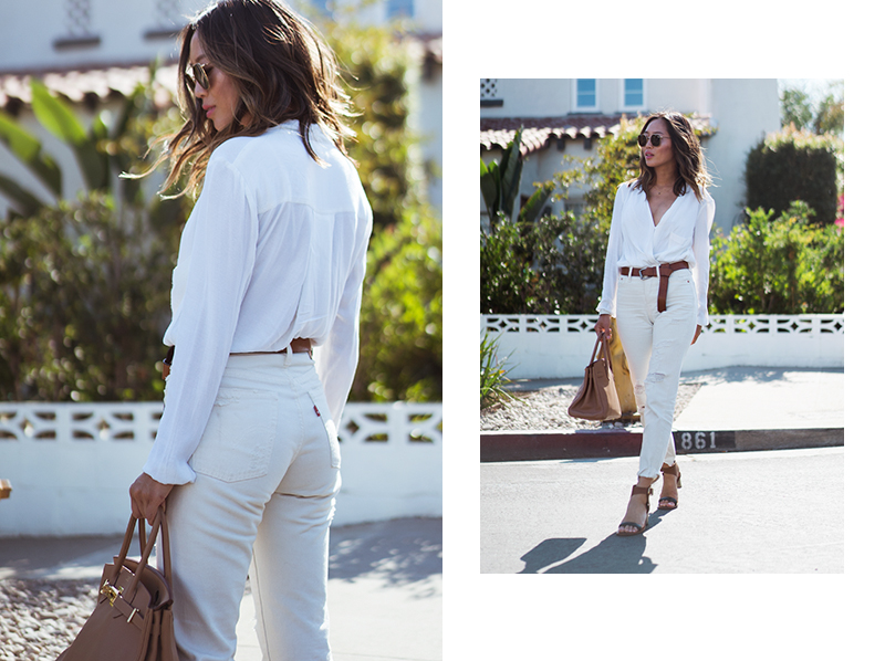 How to Wear White on White in Summer | Song of Sty