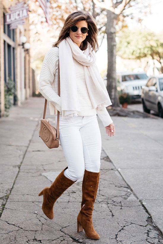 7 Ways You Can Wear White Jeans In Winter | Be Daze Live | White .