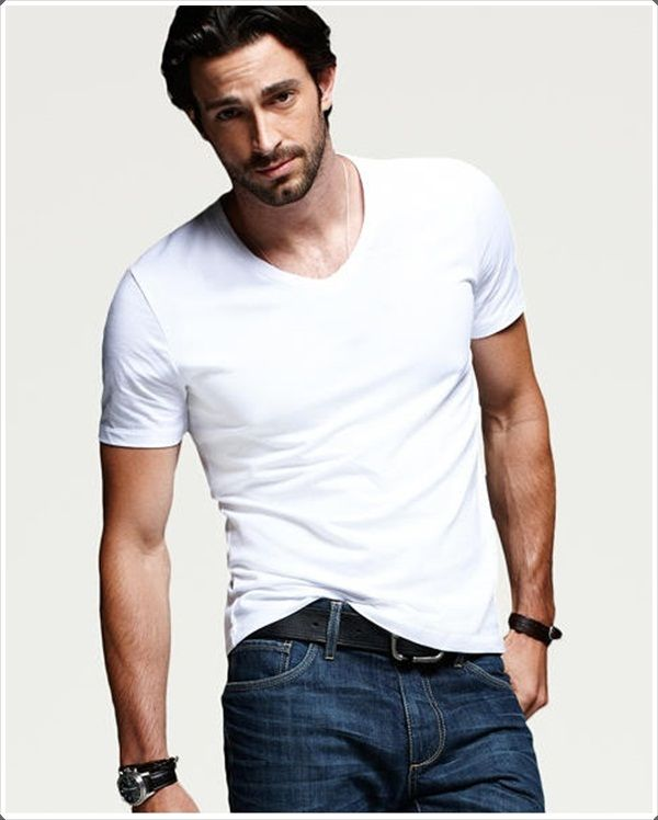 V Neck T Shirts for Men Are The Best for Summer – Carey Fashion in .