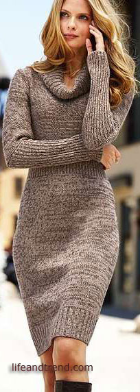 SEXY WOOL DRESSES-COMFORTABLE AND VERY SLEEK WINTER DRE