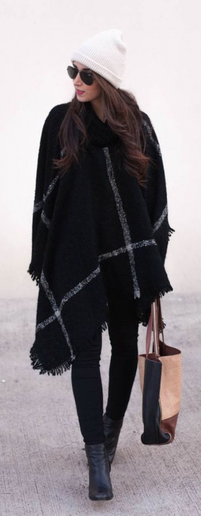 How To Wear A Poncho Or Cape This Season 2020 | FashionTasty.c