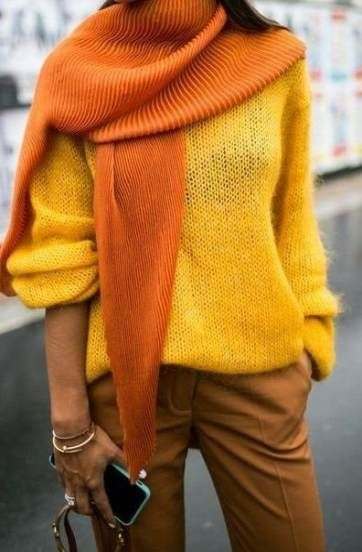 52 Ideas how to wear yellow sweater colour for 2019 | Yellow .