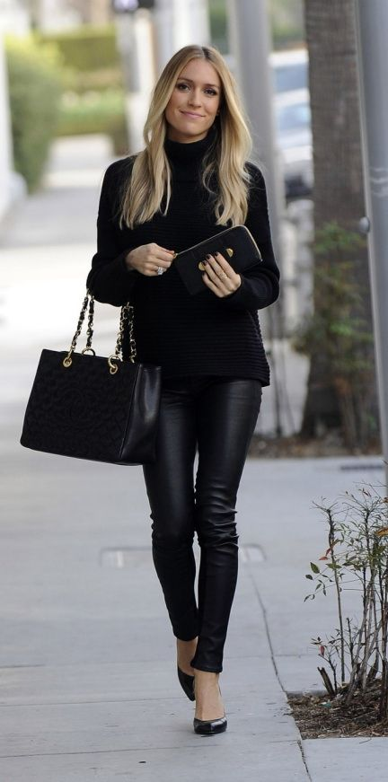 I LOVE this outfit - I wear black everything anyways, but I am .
