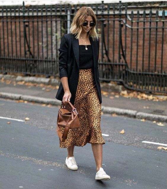3 Different Leopard Print Skirts 3 Outfit Ideas | Style Report .
