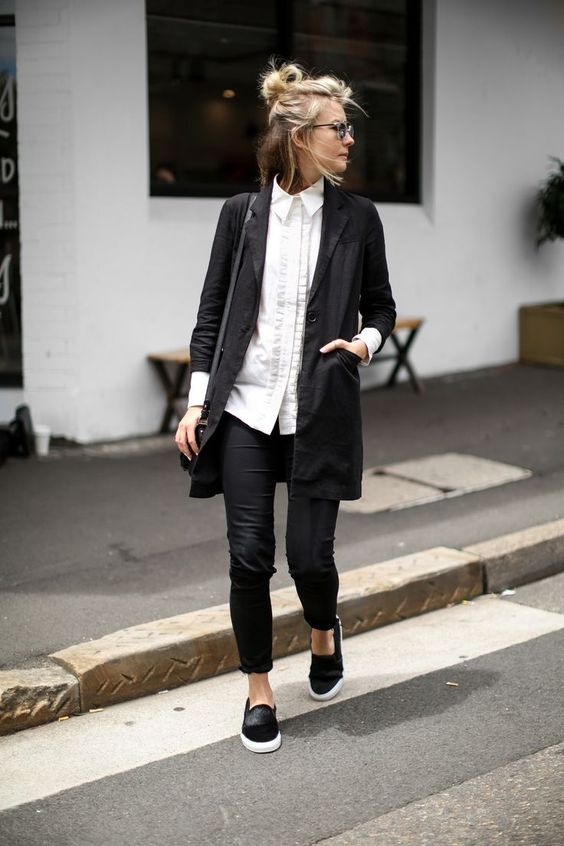 How To Style A Long Blazer For Spring: 15 Ideas - Styleohol