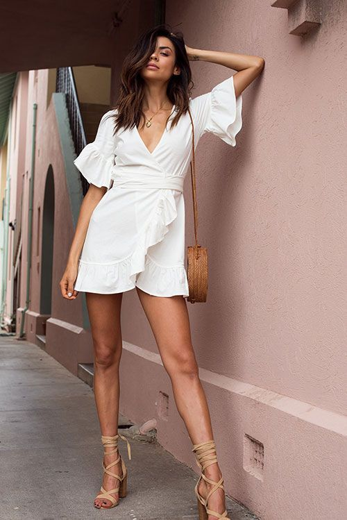 7 Fail-Safe White Dress Ideas For Summer | The Daily Luxe | Summer .