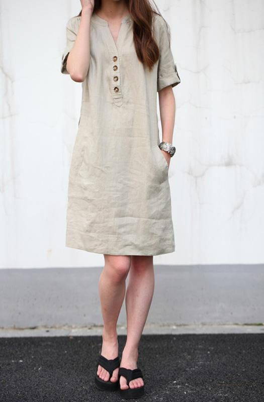 Pros of cotton dresses cotton dresses khaki linen dress maxi dress .