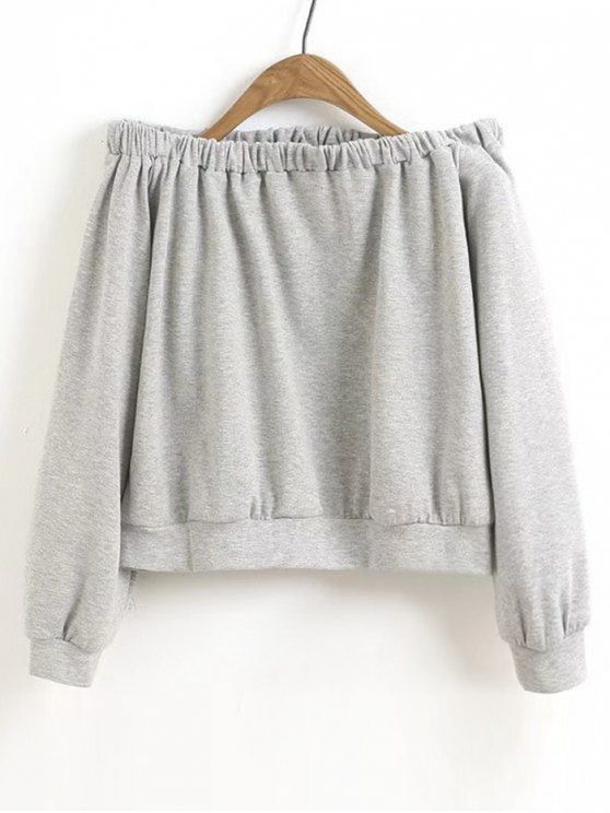Up to 68% OFF! Cropped Off Shoulder Sweatshirt. Zaful,zaful.com .