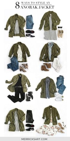100+ Best Green cargo jacket images in 2020 | autumn fashion, fall .