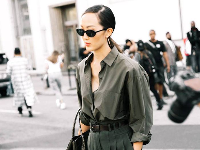 14 Olive-Green Outfits You Can Wear Year Around   Who What We