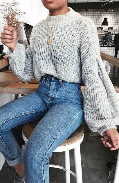 Style Spacez: 41 Cheap Big,Oversized,Chunky Sweater Outfit Ideas .