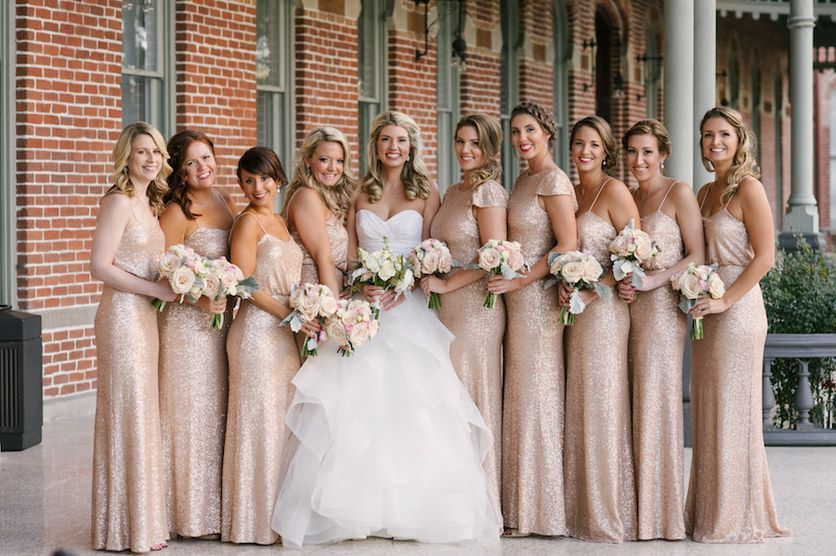 Elegant, Rose Gold and Champagne Downtown Tampa Wedding | The .