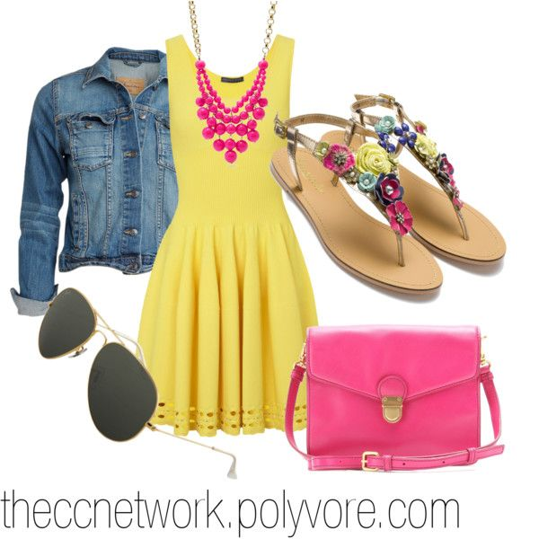 Trendy Summer Outfit Ideas with Pretty Dresses - Pretty Desig
