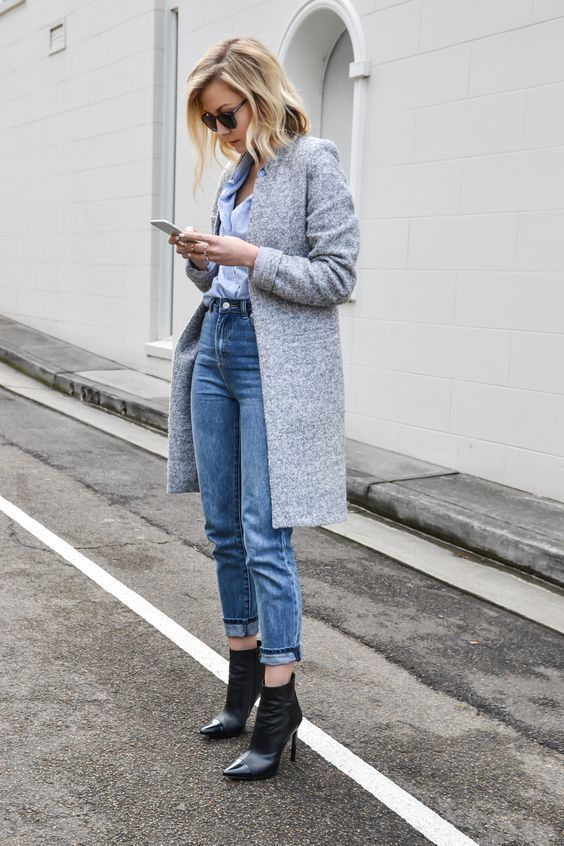pointy toe shoes jeans