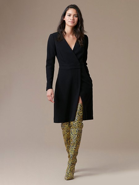 printed overknee boot outfit
