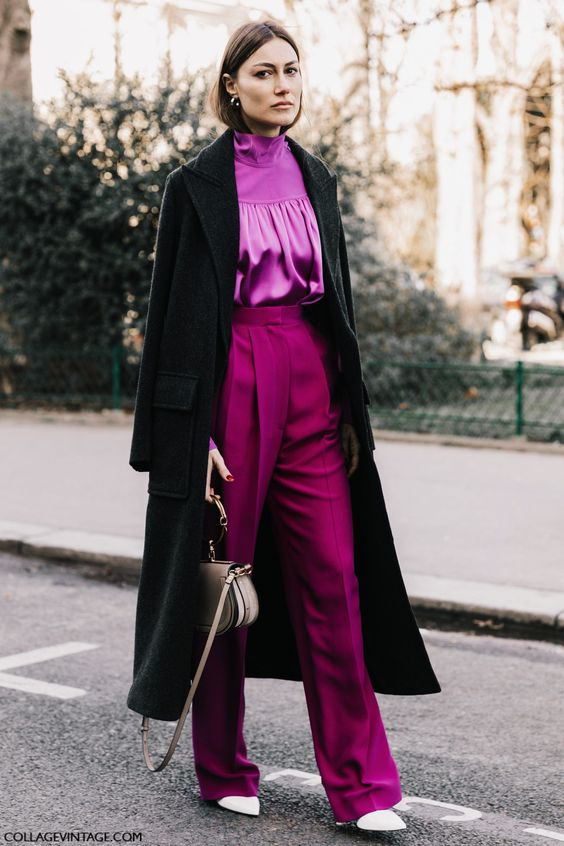 Purple Pants: How to Wear The Color of The Year - FMag.c