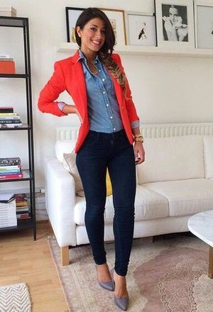 23 Pretty Red blazers for Girls Try It | Latest Outfit Ideas .