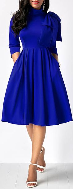 10+ Best Royal blue cocktail attire images | fashion, dresses .