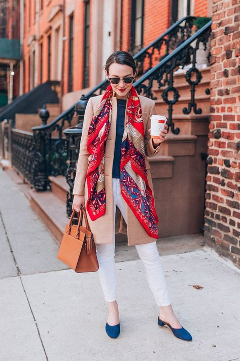 26 New ideas how to wear a scarf in the summer casual outfit ideas .