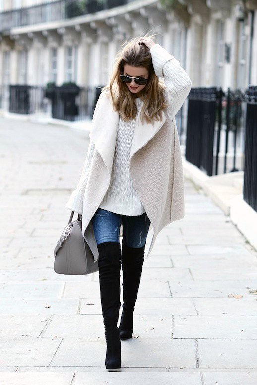15 Amazing Shearling Vest Outfit ideas for Ladies - FMag.c