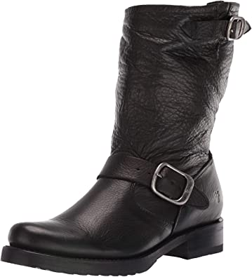 Amazon.com | Frye Women's Veronica Short Boot | Mid-Ca