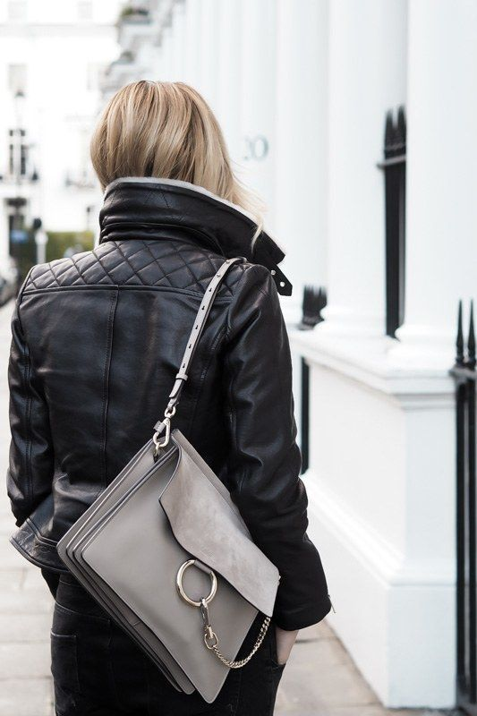 21 gray bag styling options and outfit ideas #greybag #outfitidea .