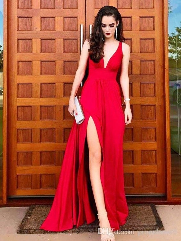 40 Hot Red Party Outfit Ideas 20