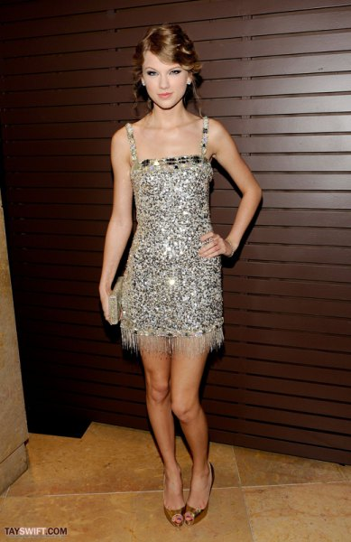 silver sequin mini dress with fringes