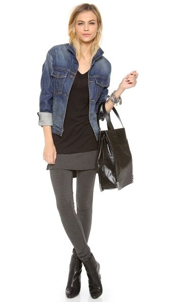 Riller & Fount Max Leggings with Attached Skirt | Outfits with .