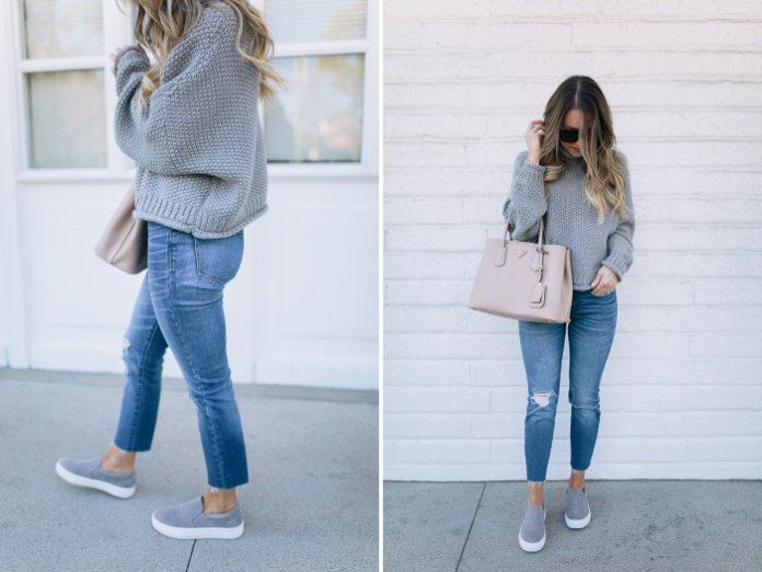Platform Slip On Sneakers Amazing Outfit Ideas - fashionist now .