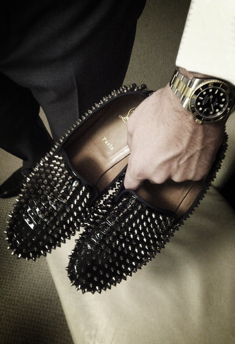 Spiked Loafers Outfit Ideas – kadininmodasi.org in 2020 | Mens .