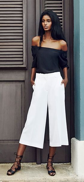55 Stylish Ways to Wear Off-The-Shoulder Tops | Fashion, Cool .