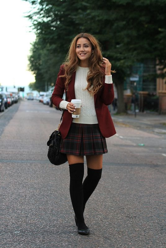 15 Amazing Tartan Skirt Outfit Ideas: Style Guide - FMag.c