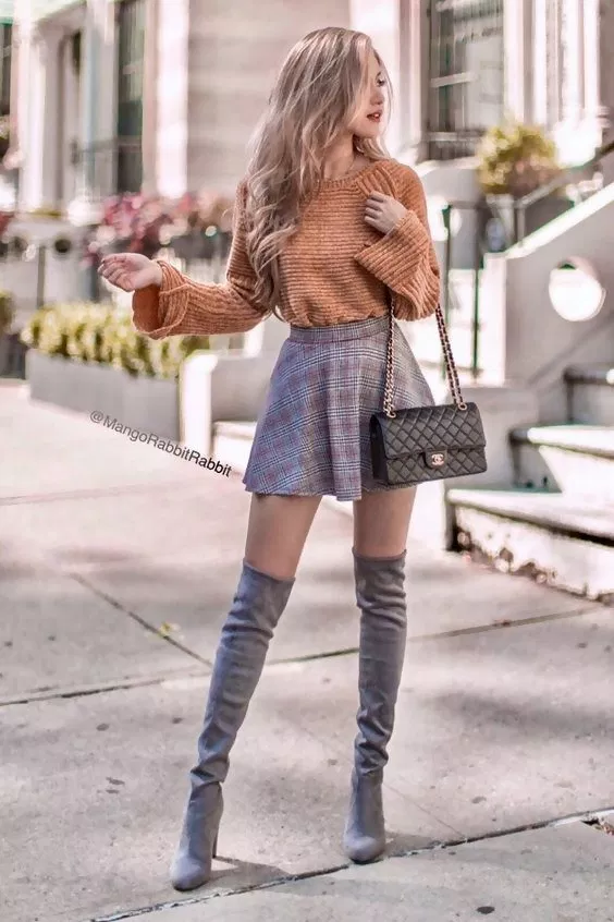 40 Thigh High Boots Outfit Ideas That Are Easy to Copy | College .