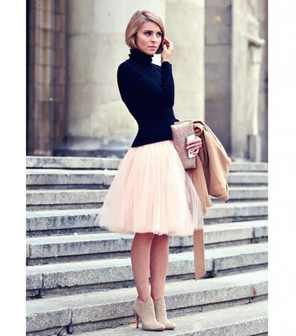 17 Ways to Make Tulle Skirts Look Incredibly Chic | Tulle skirts .