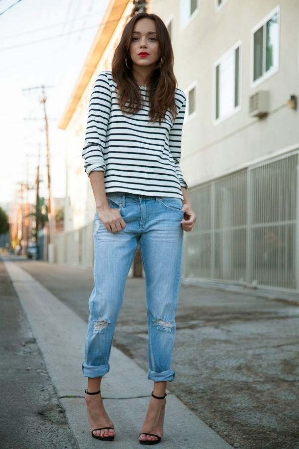typical example of boyfriend jeans