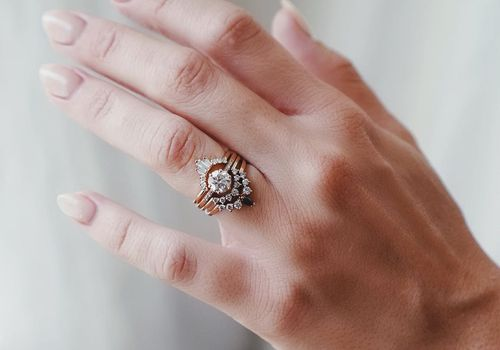 How to Build a Stacked Wedding Ring S
